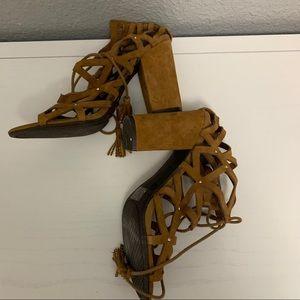 Jessica Simpson block heel sandals size 11M